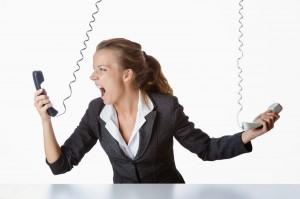 telefonata muta, spesso solo chiamate commerciali