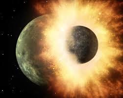 Guarda la versione ingrandita di Luna nata da impatto violento 4,5 miliardi di anni fa