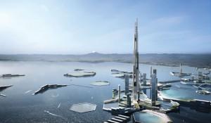 Guarda la versione ingrandita di Grattacielo più alto al mondo sarà costruito a Tokyo, sarà alto un miglio, 1.699 metri