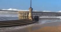 Mareggiate Toscana <br /> onde di 6 metria Livorno