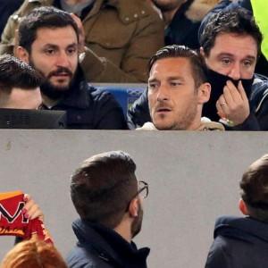 """Guarda la versione ingrandita di As Roma, caso Totti. Compagni: """"No problema"""". E Baldissoni.."""