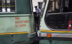 Roma, tamponamento tra 2 tram: 9 feriti sulla Prenestina