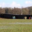 Olanda, Dalfsen: treno deraglia a passaggio a livello FOTO3