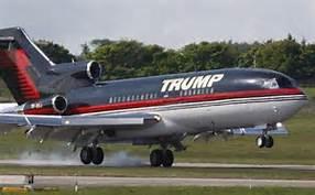 Guarda la versione ingrandita di Il Boeing 757 personale di Trump
