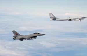 Gran Bretagna: bombardieri russi intercettati in volo da Raf