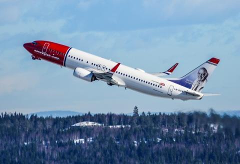 NorwegianNorwegian, compagnia low cost apre base a Fiumicino da marzo 04
