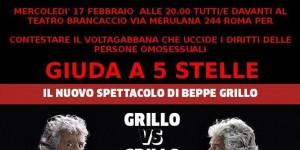 Vaffa Day Gay: Lgbt contro Grillo per Unioni Civili