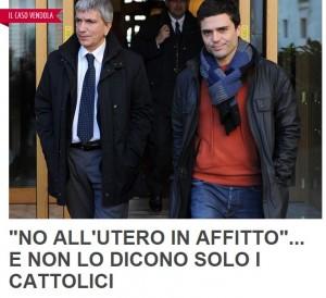Guarda la versione ingrandita di Nichi Vendola, fuoco incrociato Famiglia Cristiana-Boldrini