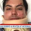 Marine eroe guerra massacrato da gang al McDonald perché...