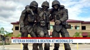 Guarda la versione ingrandita di Marine eroe guerra massacrato da gang al McDonald perché…
