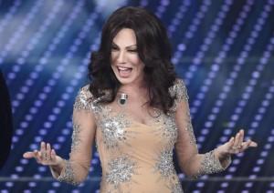 Virginia Raffaele imita Sabrina Ferilli (foto Ansa)