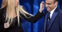 Virginia Raffaele-Versace<br /> perde orecchio in diretta