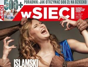 """Stupro islamico d'Europa"": copertina choc in Polonia"