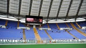 Lazio-Roma verso record negativo: per ora solo in 22mila