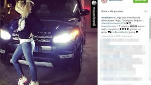 Icardi e Nara, foto da Instagram