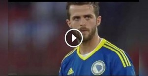 Dzeko-Pjanic video gol in Svizzera-Bosnia 0-2