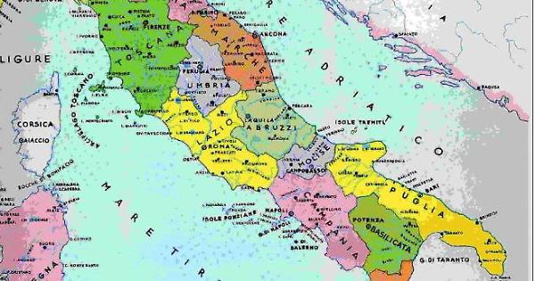 Cartina Politica Del Sud Italia.Italia Al Sud Si Muore Prima Colpa Di Poverta Sanita