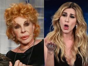 Guarda la versione ingrandita di Ornella Vanoni contro imitazione di Virginia Raffaele