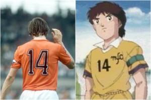 "Johan Cruyff ha ispirato ""Holly e Benji"" e Julian Ross"