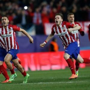 Champions League, Atletico ai quarti (foto Ansa)