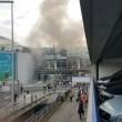 Bruxelles, sala check in distrutta dopo le bombe12