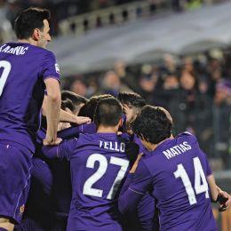 Guarda la versione ingrandita di Fiorentina-Napoli nelle foto Ansa