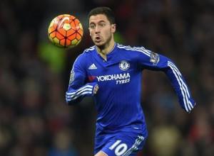 Guarda la versione ingrandita di Chelsea, Hazard nella foto Ansa