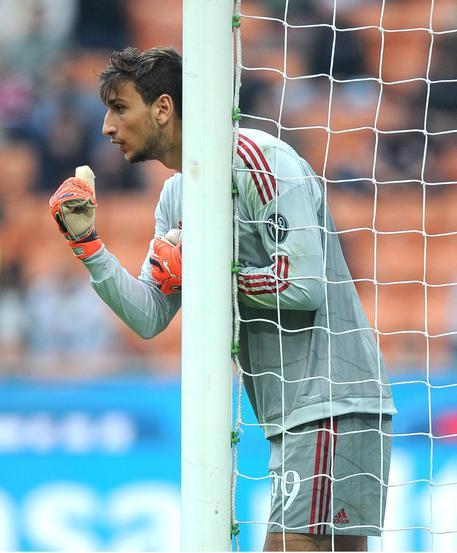 Calciomercato Milan, Donnarumma uno dei pochi sicuri della conferma per la prossima stagione (foto Ansa)