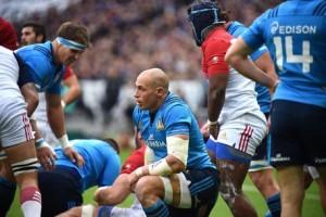 Rugby, Parisse della Nazionale Italiana nella foto Ansa