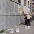Blu cancella suoi murales Troppi magnati qui magnano11