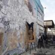 Blu cancella suoi murales Troppi magnati qui magnano6
