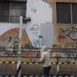 Blu cancella suoi murales Troppi magnati qui magnano16