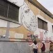 Blu cancella suoi murales Troppi magnati qui magnano13