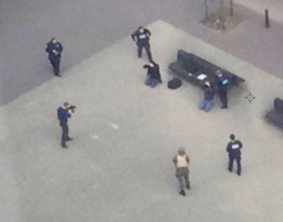 Bruxelles, due presunti terroristi fermati