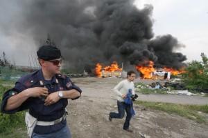 Roma, vigili hanno paura di campi rom: Basta rischiare vita n01