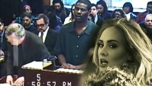 Canta Hello di Adele per chiedere scusa al giudice 5