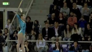 Jesolo, brutta caduta dalla trave per la ginnasta Carlotta Ferlito