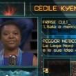 Cecile Kyenge a La Gabbia, verso scimmia dal pubblico VIDEO (2)
