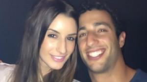 Guarda la versione ingrandita di Daniel Ricciardo e Jemma Boskovich