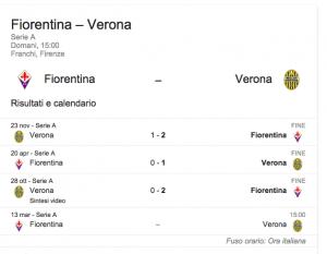 Fiorentina-Verona, streaming-diretta tv: dove vedere Serie A