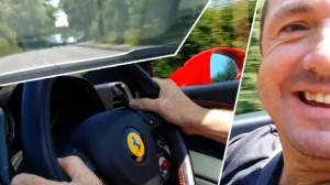 YOUTUBE Ferrari a 160 km/h...limite su quella strada7