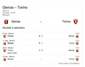 Genoa-Torino, streaming-diretta tv: dove vedere Serie A