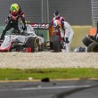 Gp Australia, Alonso sperona Gutierrez e si schianta2