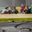 Gp Australia, Alonso sperona Gutierrez e si schianta7