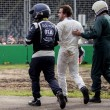 Gp Australia, Alonso sperona Gutierrez e si schianta9