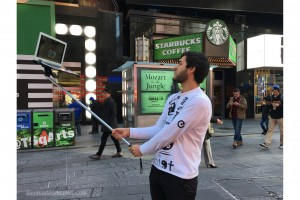 "Macbook Selfie Stick"", bastone autoscatto pc portatili 222"