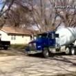 Ruba betoniera a 11 anni e sfreccia a 100 km/h4