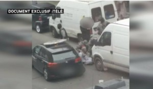 Guarda la versione ingrandita di Salah Abdeslam, nuovo VIDEO mostra momento cattura