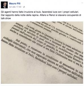 """Sassari, rapina alla Mondialpol: """"Polizia con armi del 1978"""""""
