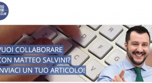 "Matteo Salvini ""factor"": cerca collaboratori su facebook"